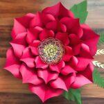 Kartondan Çiçek Yapımı Etkinlikleri 6