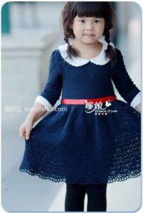 Örgü Çocuk Elbiseleri Anlatımlı 13