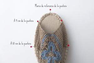 Örgü Yazlık Ayakkabı Yapılışı 12