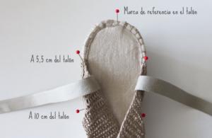 Örgü Yazlık Ayakkabı Yapılışı 13