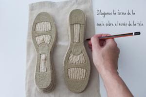 Örgü Yazlık Ayakkabı Yapılışı 7