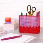 Plastik Kanvas ile Kalemlik Nasıl Yapılır? 7