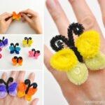 Şönil Kelebek Yüzük Yapılışı 16