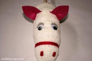 Sopalı At Kafası Yapımı 11