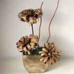 Tuvalet Kağıdı Rulosundan Çiçek Yapımı 1