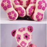 Afrika Çiçeği Örgü Modelleri 11