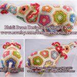 Afrika Çiçeği Örgü Modelleri 31