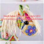 Afrika Çiçeği Örgü Modelleri 6