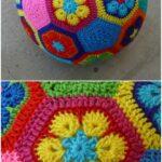 Afrika Çiçeği Örgü Modelleri 8