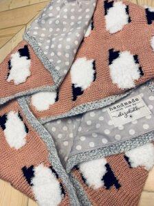 Bebek Battaniyesi Örgü Modelleri Şişle Yapılışı
