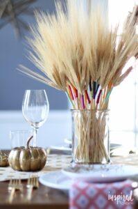 Buğday Başağı Süsleme 12