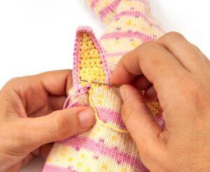 Çoraptan Kukla Yapımı 11