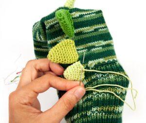 Çoraptan Kukla Yapımı 17