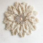 Deniz Kabuğu Makrome Duvar Süsü Yapılışı 1