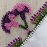 İğne Oyası Karanfil Çiçeği Yapılışı
