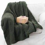 Kadife İp Battaniye Modelleri 3