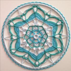 Örgü Mandala Modelleri Yapılışı 13