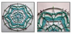 Örgü Mandala Modelleri Yapılışı 1