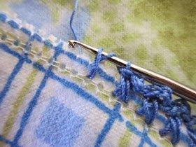 Pazen Battaniye Kenarı Tığlama 13