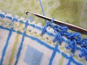 Pazen Battaniye Kenarı Tığlama 14