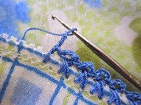 Pazen Battaniye Kenarı Tığlama 15
