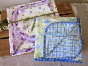 Pazen Battaniye Kenarı Tığlama 19