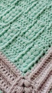 Tığ İşi Bebek Battaniye Modelleri ve Yapılışları 3