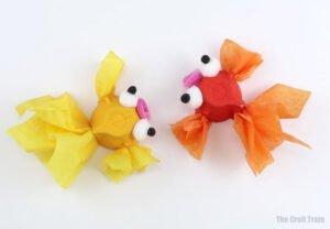 Yumurta Kolisinden Balık Yapılışı 11