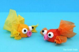 Yumurta Kolisinden Balık Yapılışı
