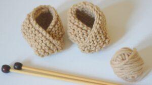 Anlatımlı Bebek Patik Modeli Örnekleri