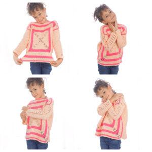 Anlatımlı Çocuk Bluz Modelleri