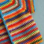 İki Renkli Örgü Bebek Yelek Modelleri 35