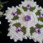 Menekşe Çiçeği Lif Yapılışı 1