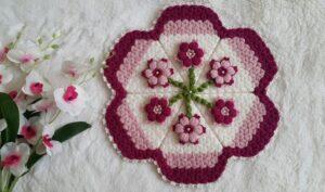 Puf Çiçekli Lif 1