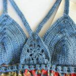 Üstü Örgü Altı Kumaş Elbiseler 15