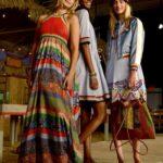 Üstü Örgü Altı Kumaş Elbiseler 24