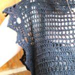 Üstü Örgü Altı Kumaş Elbiseler 4