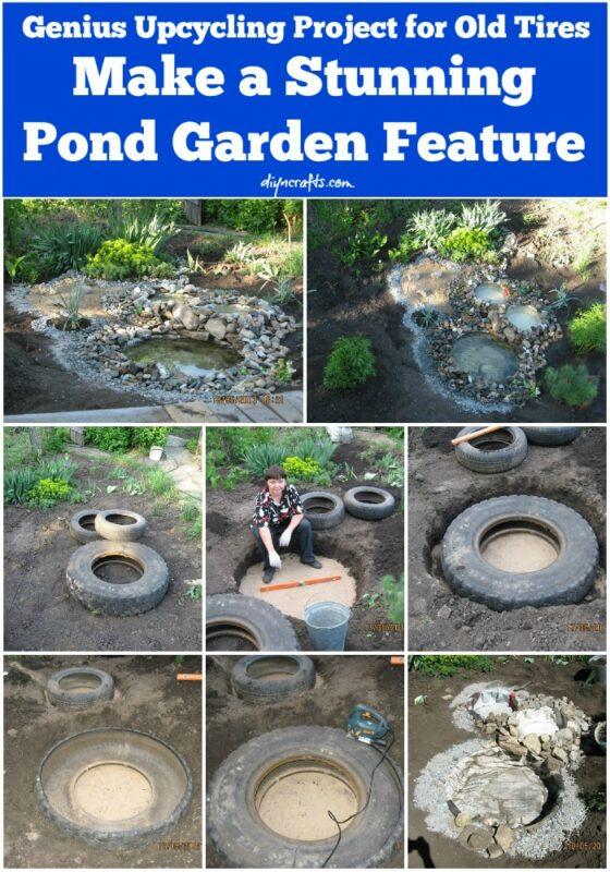 Araba Lastiği ile Bahçe Dekorasyonu 101