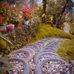 Araba Lastiği ile Bahçe Dekorasyonu 18