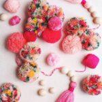 Çiçekli Ponpon Nasıl Yapılır? 26