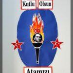 Cumhuriyet Bayramı 29 Ekim Pano Süsleme 10