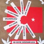 Cumhuriyet Bayramı 29 Ekim Pano Süsleme 13
