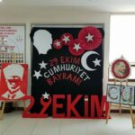 Cumhuriyet Bayramı 29 Ekim Pano Süsleme 14