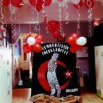 Cumhuriyet Bayramı 29 Ekim Pano Süsleme 21