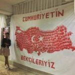 Cumhuriyet Bayramı 29 Ekim Pano Süsleme 23