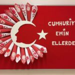 Cumhuriyet Bayramı 29 Ekim Pano Süsleme 24