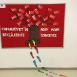 Cumhuriyet Bayramı 29 Ekim Pano Süsleme 27