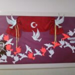 Cumhuriyet Bayramı 29 Ekim Pano Süsleme 34