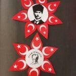 Cumhuriyet Bayramı 29 Ekim Pano Süsleme 4