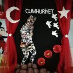 Cumhuriyet Bayramı 29 Ekim Pano Süsleme 5